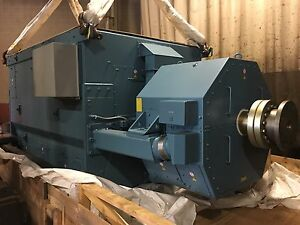 New 9 3 Mw Generator End 12470 Volt Abb Ams 900l6l Or 18000 Hp Motor 1200 Rpm