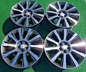 Factory Range Rover 21 Wheels 4 Perfect Oem Autobiography Diamond Turned Style 5