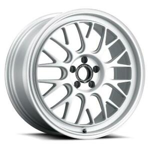 19 Fifteen52 Holeshot Rsr Radiant Silver Wheels Civic Type R Fk8 Set Of 4 19x95