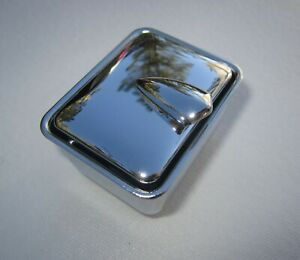 1957 1962 Corvette Ash Tray Used In Tunnel Chrome Plated New As Original