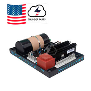 Automatic Voltage Regulator Avr Module Card R448 For Leroy Somer Thunder Parts