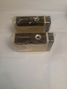 Lot of two Panasonic Kp 2a Battery Operated Pencil Sharpener New