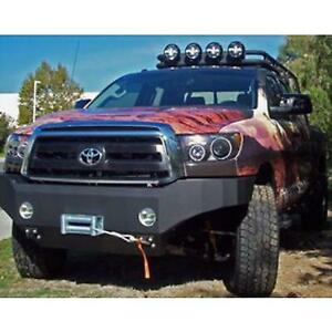 Body Armor 4x4 Toyota Tundra Front Winch Bumper In Textured Powder Coat Tn 1933