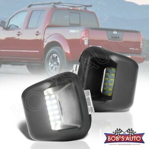 For Frontier Titan Xterra Armada 2pc High Power Smd Led License Plate Lamp Light