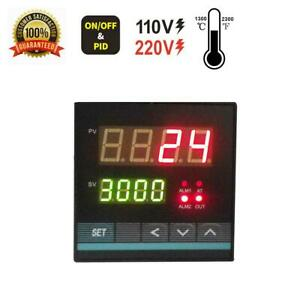 Pid Temp Controller With Universal Inputs ssr Output 2 Alarms In Or 72 72