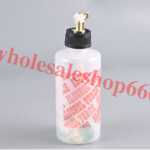 New 200ml Dental Lab Jewelry Alcohol Torch Needle Flame Plastic Bottle