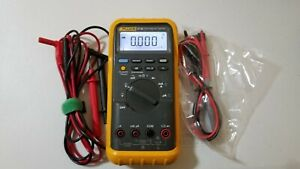 Used Fluke 87 Iii True Rms Multimeter With Test Leads Tp 239519