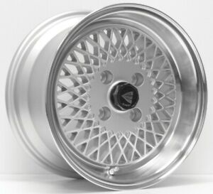 Set Of 4 15x7 38 Enkei Enkei92 4x100 Silver Wheels