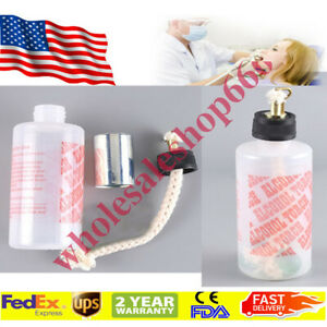 Pro Us 200ml Dental Lab Oral Alcohol Light Torch Needle Flame Gentle Squeeze Fda