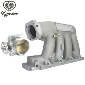 Intake Manifold 70mm Throttle Body For 06 11 Civic 04 08 Acura K series Engine