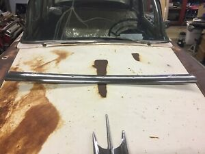 1957 Ford Convertible Windshield Stainless