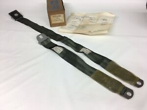 Nos 1967 67 68 Ford Mustang Shelby Galaxie Seat Belt C7az 62613b84 Green Gold