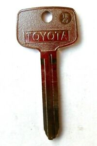 New Toyota Logo Tr47 Uncut Key Blank Made In Usa