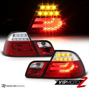 Error Free For Bmw 00 03 3 Series E46 Tail Light Led Tube Signal Brake Lamp L R