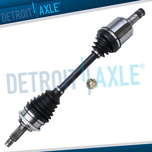 Front Left Cv Axle Shaft Assembly For Ford Fusion Mazda 6 Mercury Milan 4 Cyl
