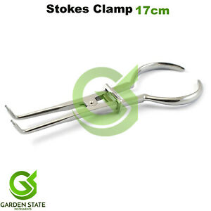 New Dental Stokes Clamp Forceps Rubber Dam Clamps Plier Restorative Instruments