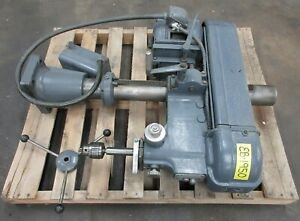 20 3 4 Hp Walker Turner Drill Press Head Model 1113 24 Usa
