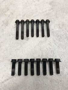 03 04 Oem Mustang Svt Cobra Bell Housing Bolts To T56 And To Engine Complete Set
