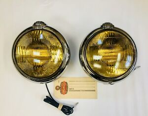 1932 1948 Dodge Plymouth Chrysler Desoto Mopar Accessory 6 Volt Fog Lights