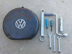 Volkswagen Spare Tire Toolbox With Tools