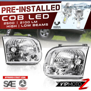 premium Cob Led Bulb for Toyota 05 06 Double Cab Tundra 05 07 Sequoia Headlight