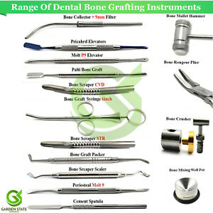Bone Grafting Instruments Range Dental Implant Graft Syringe Collector Scraper