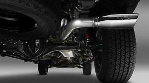 Oem Toyota Tacoma 2016 2020 Double Cab Short Bed Trd Chrome Exhaust System