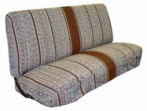 Saddle Blanket Truck Bench Seat Cover Fits Chevrolet Dodge Ford Trucks Brown