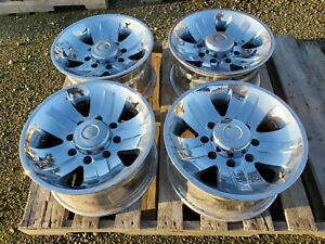 Foose 4 Rims 17x8 With 8x6 5 Bolt Pattern Chevy Gmc Ford Dodge Truck