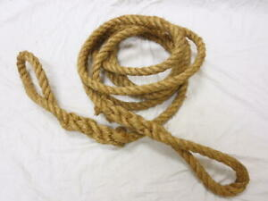 Mb Gpw Willys Ford Wwii Jeep G503 Manila Braided Tow Rope