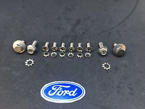 1967 1972 Ford Truck Stainless Door Latch Hardware Kit