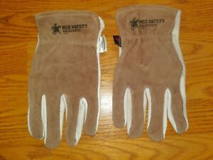 MCR Safety 3204 Select Grade Cow Grain Leather Driver Gloves Sewn with Kevlar XL $24.00
