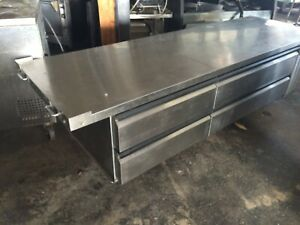 Silver King Refigerated Chef Base 97 W 4 Drawer