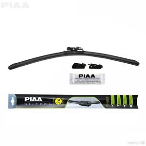 Piaa 97048 Si tech Silicone Flat Windshield Wiper Blade 19 In 475 Mm