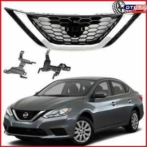 W Emblem Front Bumper Grill Grille For Nissan Sentra 2016 17 18 62310 3yu0a