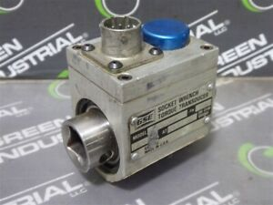 Used Gse 038250 00101 Socket Wrench Torque Transducer 2 000 Mv v At 100 Ft lbs