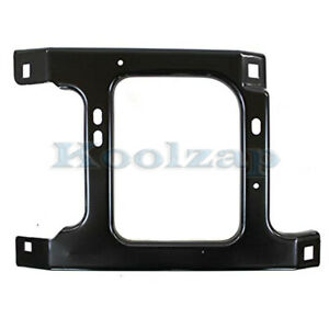 02 09 Ram Pickup Truck Front Bumper Face Bar Retainer Brace Bracket Right Side