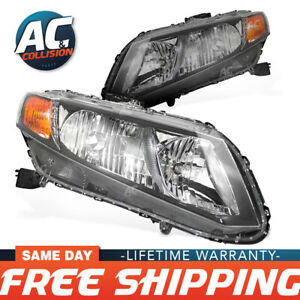 Headlight Assembly Right And Left Sides For 2012 Honda Civic