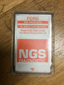 Ford Ngs New Generation Star Diagnostic Card Orange My 2005 Later Non Can