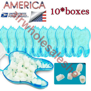 Sale Temporary Crown For Anterior Teeth Tooth Beauty Dental Treatment 600pcs