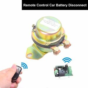Car Auto Remote Control Battery Switch Disconnect Anti theft Power Master Kill