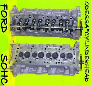 New 2 Ford Lincoln Navigator 4 6 Sohc Cylinder Heads Cast Rf 1l2e Only Rebuilt