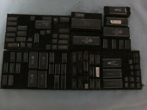 Lot Of Vintage Flat Paks Nos Integrated Circuits Ic s 73 Pcs New