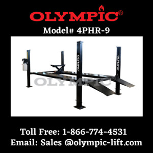 Car Truck Storage Stacking Lift Extra High Lift Olympic Brand 9 000 Lbs Capacity
