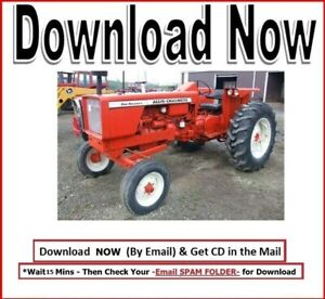 Allis Chalmers 180 185 Service Manual Overhaul And Repair Technical Shop Manual