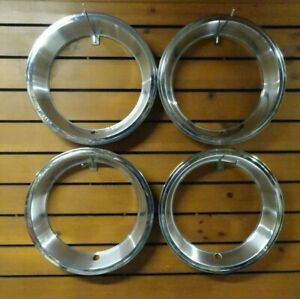 1968 79 Dodge Plymouth Amc Ford Magnum 500 14 Trim Rings Beauty Rings