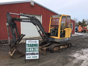 2005 Volvo Ec35 Hydraulic Mini Excavator W Cab Hydraulic Thumb Only 900hrs