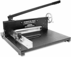 New Martin Yale 7000e 12 Manual Commercial Stack Cutter Free Shipping