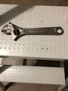 Craftsman 6 Adjustable Wrench 44602 Made In The Usa Used