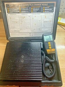 Cps Cc220 Compute a charge Refrigerant Scale Used Reliable
